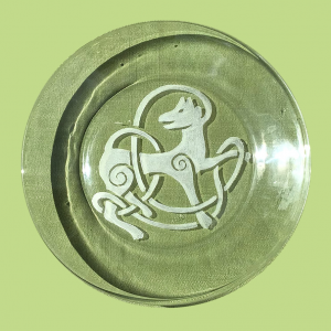 Engraved Glass Plates